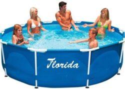 Bazén Florida 3,05 x 0,76 m bez filtrácie-bNadzemný bazén s celkovým objemom vody 4,5 m3./b