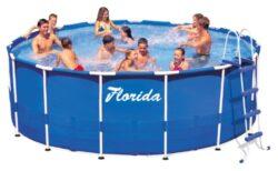 Bazén Florida 3,66 x 0,76 bez filtrácie-bNadzemný bazén s celkovým objemom vody 6,5 m3./b