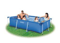 Bazén Florida 3,00 x 2,00 x 0,75 m bez filtrácie-bNadzemný bazén s celkovým objemom vody 3,8 m3./b