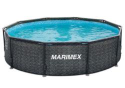 Bazén Florida 3,66x1,22 m RATAN bez prísl.-bNadzemný bazén s celkovým objemom vody 11,5 m3./b
