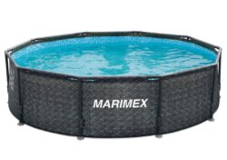 Bazén Florida 4,57x1,32 m RATAN bez prísl.-bNadzemný bazén s celkovým objemom vody 19,6 m3./b