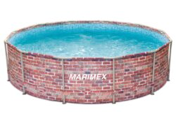 Bazén Florida 3,66x0,99 m TEHLA bez prísl.-bNadzemný bazén s celkovým objemom vody 9,4 m3. /b