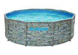 Bazén Florida 3,05x0,91 m KAMEŇ bez príslušenstva-bNadzemný bazén s celkovým objemom vody 5,2 m3./b