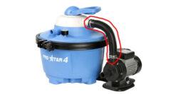 Hadica prepojovacia k filtrácii ProStar 4-bPrepájacia hadica k filtrácii ProStar 4/b.