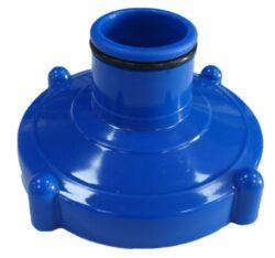 Adaptér 5/4 pre pripojenie vysávača k bazénom Intex - modrý