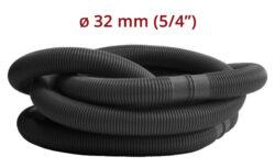 Hadica v metráži 5/4 diel 1,25 m čierna-bDĺžka jedného dielu je 1,25 m./b