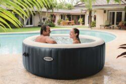 Bazén vírivý nafukovací Pure Spa Plus-bVírivka pre 1 - 4 osoby./b