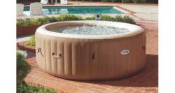 Bazén vírivý Pure Spa Bubble HWS hnedý-bVírivka pre 1 - 4 osoby./b