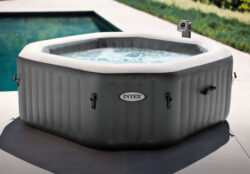 Bazén vírivý Marimex Pure Spa Bubble HWS štvorec-bVírivka pre 1 - 4 osoby./b