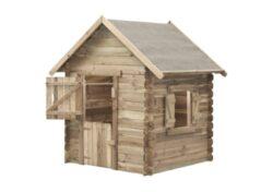 Domček detský drevený Western