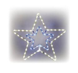 Hviezda svietiaca LED dekorácia
