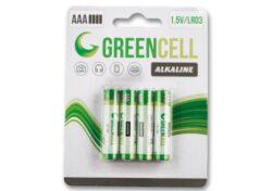 Batérie mikrotužkové GreenCell AAA - 4 ks